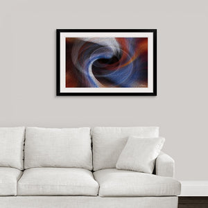 """Color Dissonance 4"" Framed Fine Art Expression"