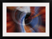 "Load image into Gallery viewer, ""Color Dissonance 1"" Framed Fine Art Expression"