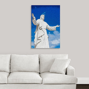 """Come Unto Me"" Fine Art Metal Print"