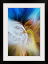 "Load image into Gallery viewer, ""Convergence 2"" Framed Fine Art Expression"