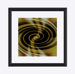 """Dimensional Paradox 1"" Matted Fine Art Print"