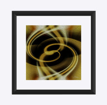 "Load image into Gallery viewer, ""Dimensional Paradox 3"" Matted Fine Art Print"