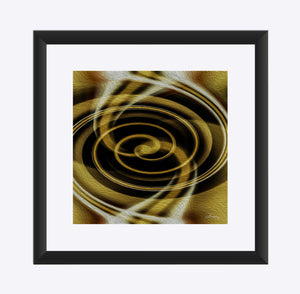 """Dimensional Paradox 6"" Matted Fine Art Print"