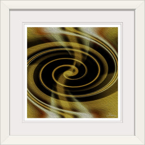 """Dimensional Paradox 1"" Framed Fine Art Expression"