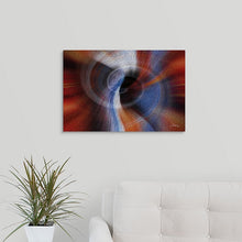 "Load image into Gallery viewer, ""Color Dissonance 1"" Fine Art Metal Print"