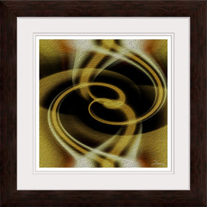 """Dimensional Paradox 4"" Framed Fine Art Expression"