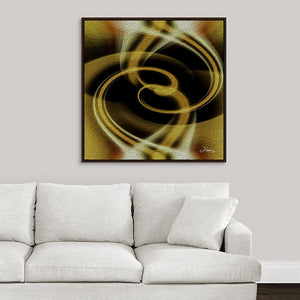 """Dimensional Paradox 4"" Fine Art Canvas"
