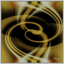 "Load image into Gallery viewer, ""Dimensional Paradox 4"" Fine Art Canvas"