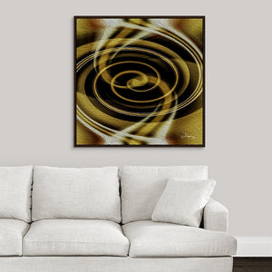 """Dimensional Paradox 6"" Fine Art Canvas"