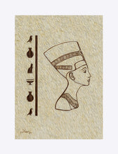"Load image into Gallery viewer, ""Egyptian Queen"" Matted Fine Art Print"
