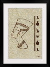 "Load image into Gallery viewer, ""Egyptian King"" Framed Fine Art Expression"