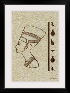 """Egyptian King"" Framed Fine Art Expression"