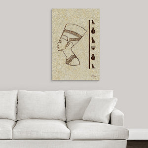 """Egyptian King"" Fine Art Acrylic"