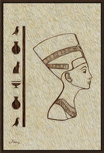 "Load image into Gallery viewer, ""Egyptian Queen"" Fine Art Canvas"