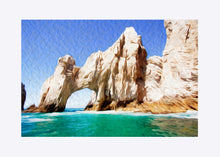 "Load image into Gallery viewer, ""El Arco de Cabo San Lucas"" Matted Fine Art Print"