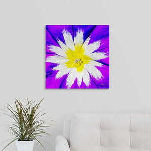 """Flower Burst"" Fine Art Metal Print"
