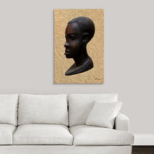 "Load image into Gallery viewer, ""Heritage 1 - African Man"" Fine Art Metal Print"