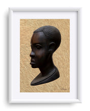 "Load image into Gallery viewer, ""Heritge 1 - African Man"" Matted Fine Art Print"