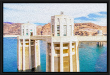 "Load image into Gallery viewer, ""Hoover Dam 1"" Fine Art Canvas"
