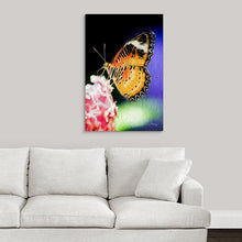 "Load image into Gallery viewer, ""Malay Lacewing Butterfly 1"" Fine Art Acrylic"