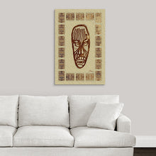 "Load image into Gallery viewer, ""African Mask - Rendition 2"" Fine Art Acrylic"