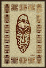 "Load image into Gallery viewer, ""African Mask - Rendition 4"" Fine Art Canvas"