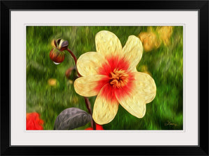 """Morning Dew 1"" Framed Fine Art Expression"