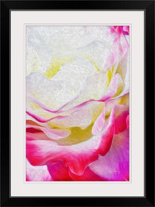 """Never Ending Layers"" Framed Fine Art Expression"
