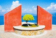 "Load image into Gallery viewer, ""Tranquil Surroundings"" - Manzanillo, Colima Fine Art Acrylic"