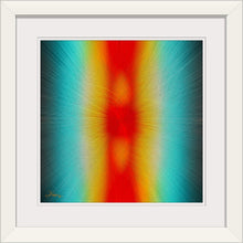 "Load image into Gallery viewer, ""Parallels"" Framed Fine Art Expression"