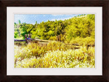"Load image into Gallery viewer, ""A Place of Serenity 1"" Framed Fine Art Expression"