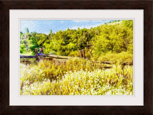 """A Place of Serenity 1"" Framed Fine Art Expression"