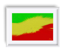 "Load image into Gallery viewer, ""Rasta Sensation 2"" Matted Fine Art Print"