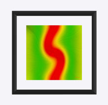 "Load image into Gallery viewer, ""Rasta Vibes 4"" Matted Fine Art Print"