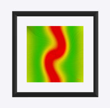 "Load image into Gallery viewer, ""Rasta Vibes 6"" Matted Fine Art Print"