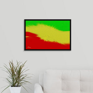 """Rasta Sensation 1"" Fine Art Canvas"