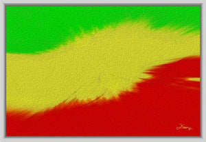 """Rasta Sensation 2"" Fine Art Canvas"
