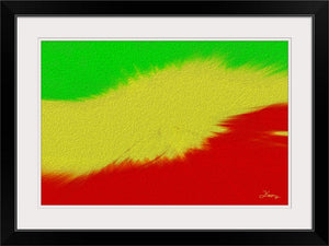 """Rasta Sensation 2"" Framed Fine Art Expression"