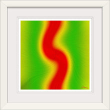"Load image into Gallery viewer, ""Rasta Vibes 3 - RT"" Framed Fine Art Expression"