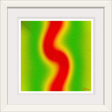 "Load image into Gallery viewer, ""Rasta Vibes 4 - LB"" Framed Fine Art Expression"