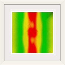 "Load image into Gallery viewer, ""Rasta Vibes 5 - CB"" Framed Fine Art Expression"