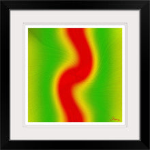 "Load image into Gallery viewer, ""Rasta Vibes 6 - RB"" Framed Fine Art Expression"
