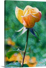 "Load image into Gallery viewer, ""Rosy Prominence 2"" Fine Art Canvas"