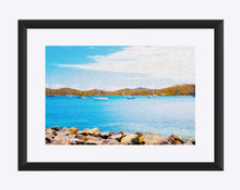 "Load image into Gallery viewer, ""Sailboat Adventure in San Juan, Puerto Rico"" Matted Fine Art Print"