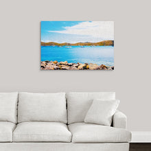 "Load image into Gallery viewer, ""Sailboat Adventure in San Juan, Puerto Rico"" Fine Art Acrylic"