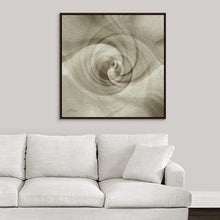 "Load image into Gallery viewer, ""Spiral of Light"" Fine Art Canvas"