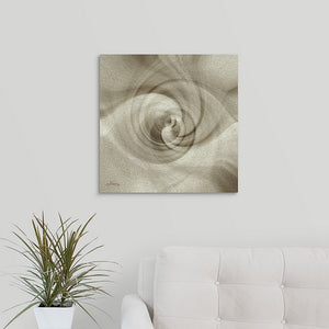 """Spiral of Light"" Fine Art Metal Print"