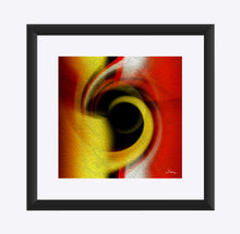 "Load image into Gallery viewer, ""Temporal Vortex 1"" Matted Fine Art Print"