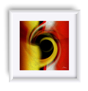 """Temporal Vortex 1"" Matted Fine Art Print"