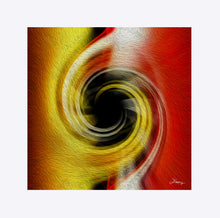 "Load image into Gallery viewer, ""Temporal Vortex 3"" Matted Fine Art Print"